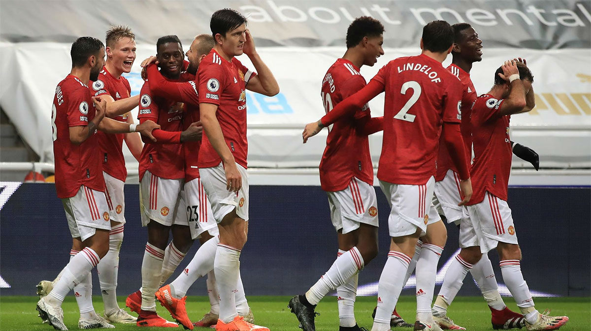 Goleada del Manchester United en el tramo final al Newcastle