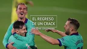 Griezmann, el regreso de un crack