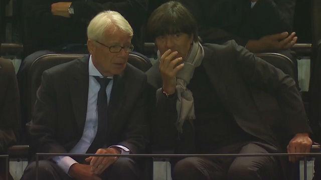 Joachim Low presenció el Dortmund-Real Madrid de esta temporada