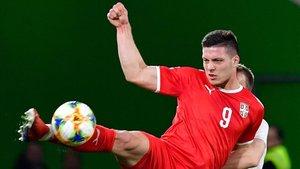 Jovic marcó con Serbia ante Alemania