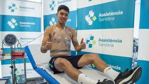 El jugador ya ha pasado el reconocimiento médico con el club azulgrana