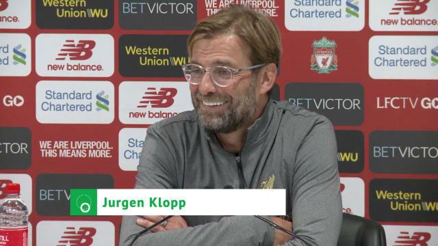 Klopp explicó la sustitución de Shaqiri
