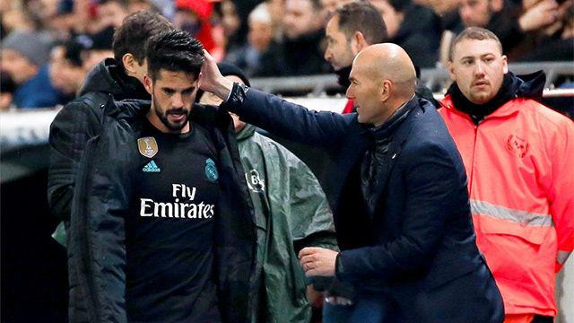 LALIGA | Espanyol - Real Madrid (1-0): El cambio de Isco