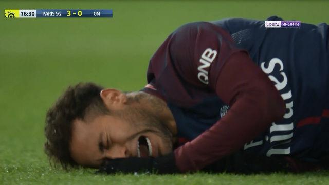 LALIGA FRANCIA | PSG - Olympique de Marsella (3-0): Neymar cayó lesionado ante el Olympique de Marsella