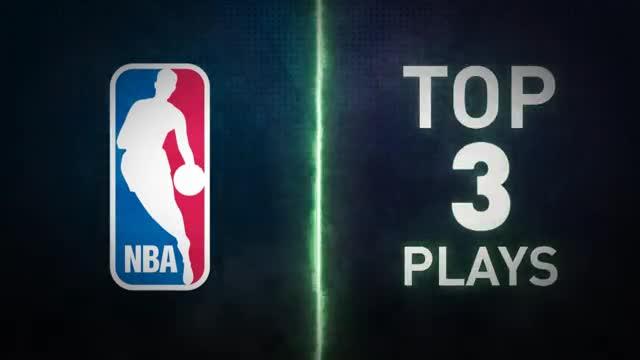 Las tres mejores jugadas de la madrugada de NBA