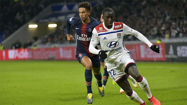 Los dos goles de Mendy con el Olympique de Lyon esta temporada