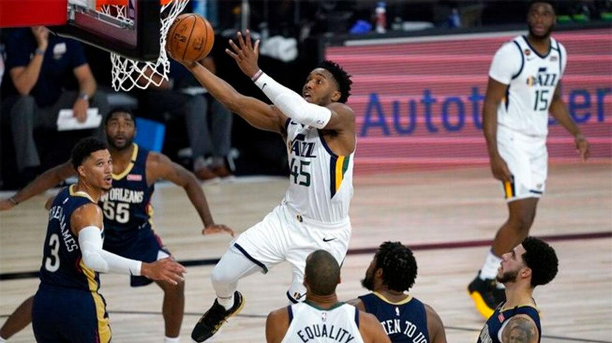 Los Jazz de Utah consiguen la primera victoria en la burbuja de Orlando