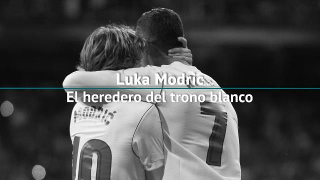 Luka Modric, el heredero del trono blanco