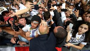 El Madrid celebra la conquista de la 13ª Champions