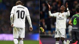 El Madrid no levanta cabeza