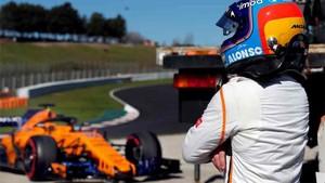 El McLaren ha dejado tirado a Fernando Alonso
