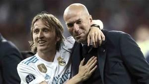 Modric puede dejar también el Real Madrid