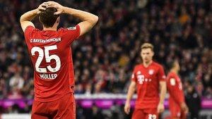 Müller se lamenta por la ocasión perdida