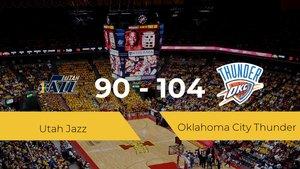 Oklahoma City Thunder gana a Utah Jazz (90-104)
