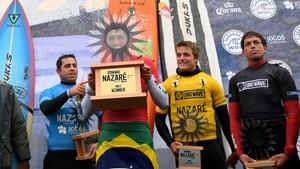 Podio del Nazaré Challenge 2018