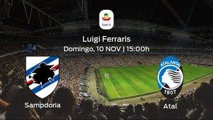 Previa del encuentro: la Sampdoria recibe en su feudo al Atalanta
