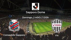 Previa del partido: el Consadole Sapporo recibe en su feudo al Vissel Kobe