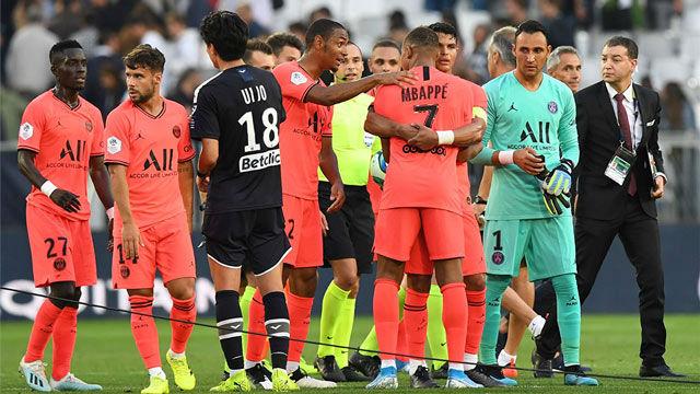 El PSG se impuso al Burdeos con gol de Neymar
