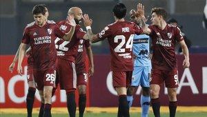 River Plate no le pierde el paso a Liga de Quito