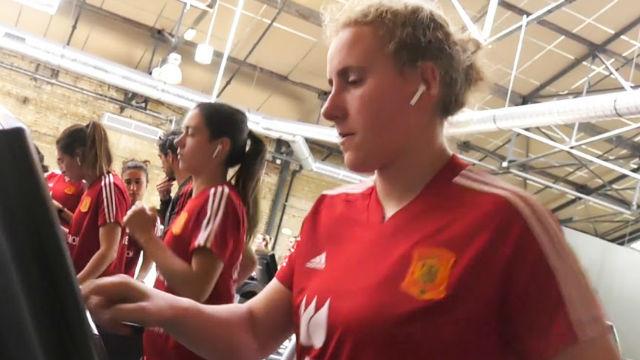 La Roja sigue poníendose en forma durante el Mundial