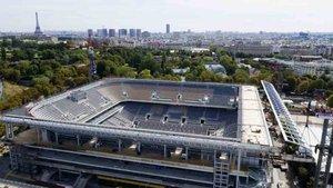 Roland Garros ha mejorado su pista central