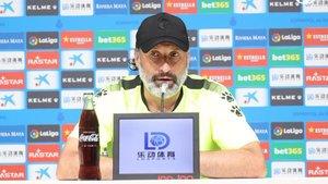 Rufete, entrenador del RCD Espanyol
