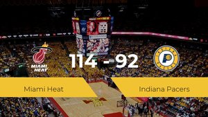 Triunfo de Miami Heat en el Visa Athletic Center ante Indiana Pacers por 114-92