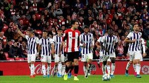El Valladolid rascó un punto de San Mamés
