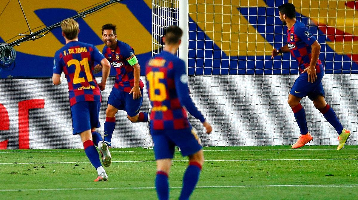 El VAR evitó el doblete de Messi