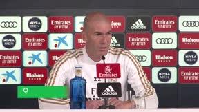 Zidane habló en la previa del Madrid-Valencia