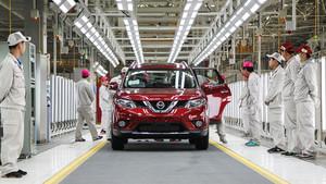 Fábrica de Nissan en China