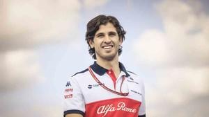El italiano Antonio Giovinazzi
