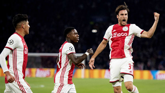 El Ajax arrolla al Lille