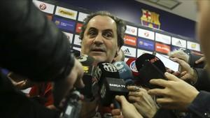Alfred Julbe no continuará en el Barça Lassa