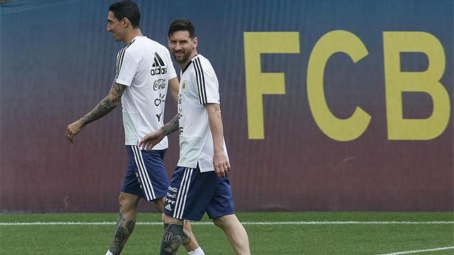 Argentina preparó el amistoso contra Israel antes del Mundial