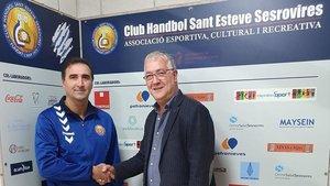 Armand Rubiño es el nuevo entrenador del CH Sant Esteve