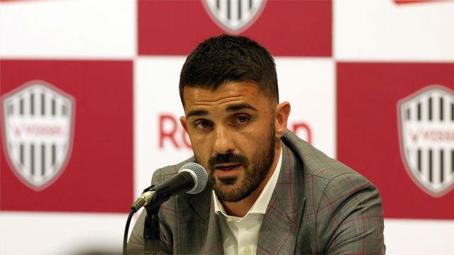 Así anunciaba David Villa su retirada del fútbol