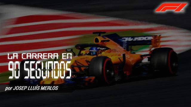 Así fue el GP de España de F1, en 90 segundos