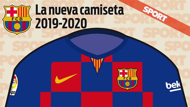 Así será la camiseta del FC Barcelona de la temporada 2019-2020