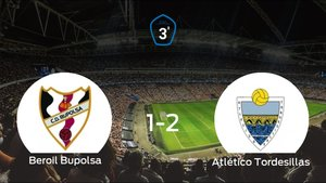 El Atlético Tordesillas se lleva los tres puntos frente al Beroil Bupolsa (1-2)