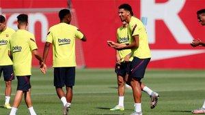 El Barça sigue preparando el choque ante Osasuna