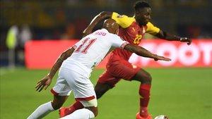Benín sorprendio a Ghana y le empató el encuentro.