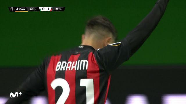 Brahim Díaz marca en la victoria del Milan