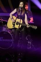 La cantante escocesa Amy McDonald en la gala del Balón de Oro