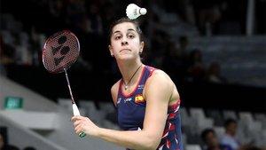 Carolina Marín arrancó con buen pie en el Master de Indonesia