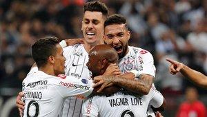 Corinthians tiene pie y medio en los cuartos de la Copa Sudamericana