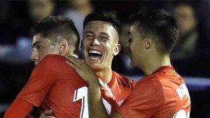 Cristo debutó en la Liga con el Real Madrid