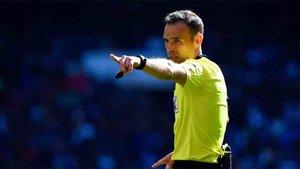 Cuadra Fernández es uno de los nuevos árbitros UEFA