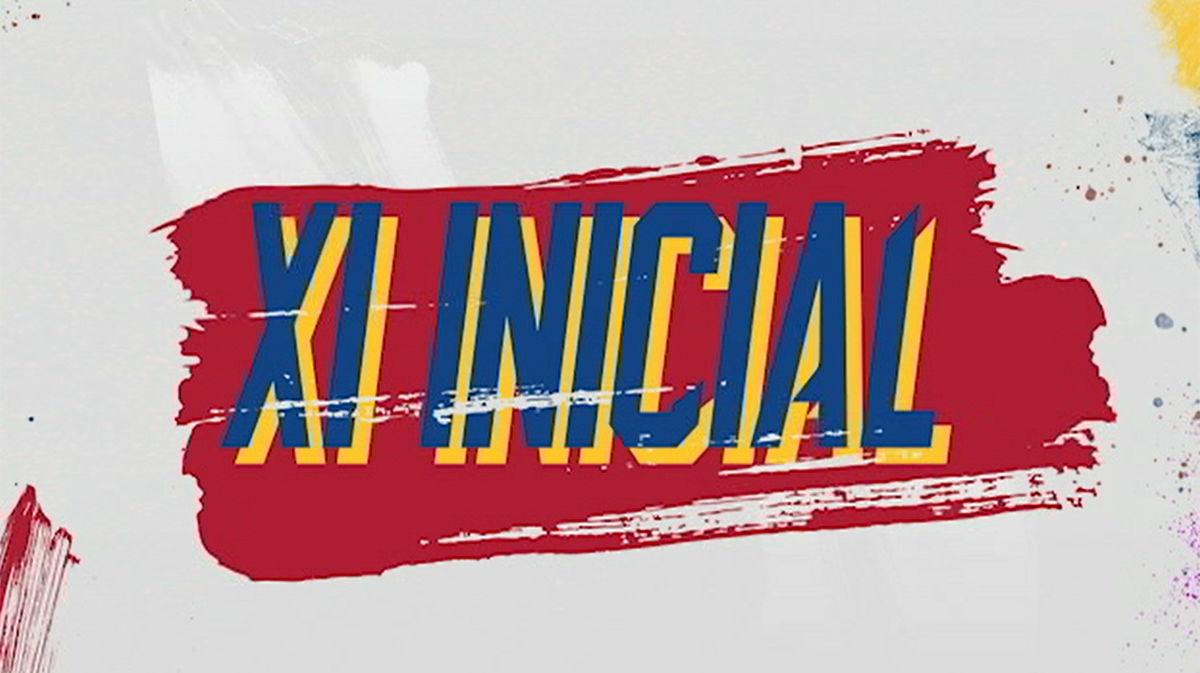 El 11 del Barça ante el Alavés