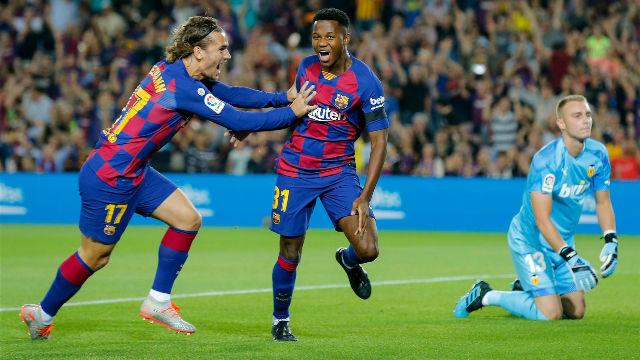 Del show de Ansu Fati al doblete de Suárez, así fue la goleada azulgrana al Valencia